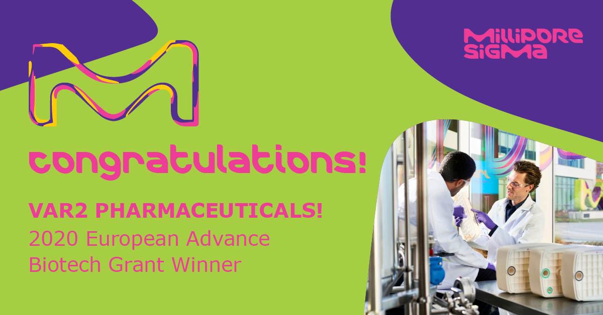 Congratulations VAR2 Pharmaceuticals!
